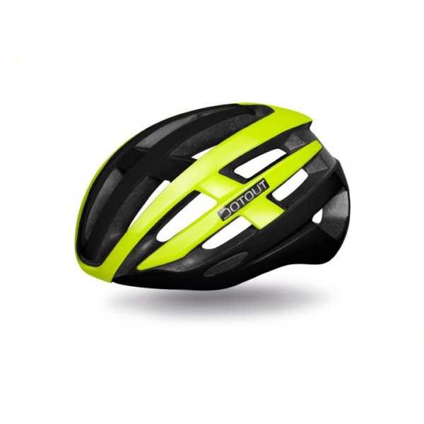 cinco-bikes-cm5-murcia-Casco-Dotout-targa-verde-negro